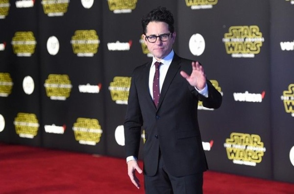 HOLLYWOOD, CA - DECEMBER 14: Writer-director J.J. Abrams attends Premiere of Walt Disney Pictures and Lucasfilm's 'Star Wars: The Force Awakens' on December 14, 2015 in Hollywood, California. Jason Merritt/Getty Images/AFP